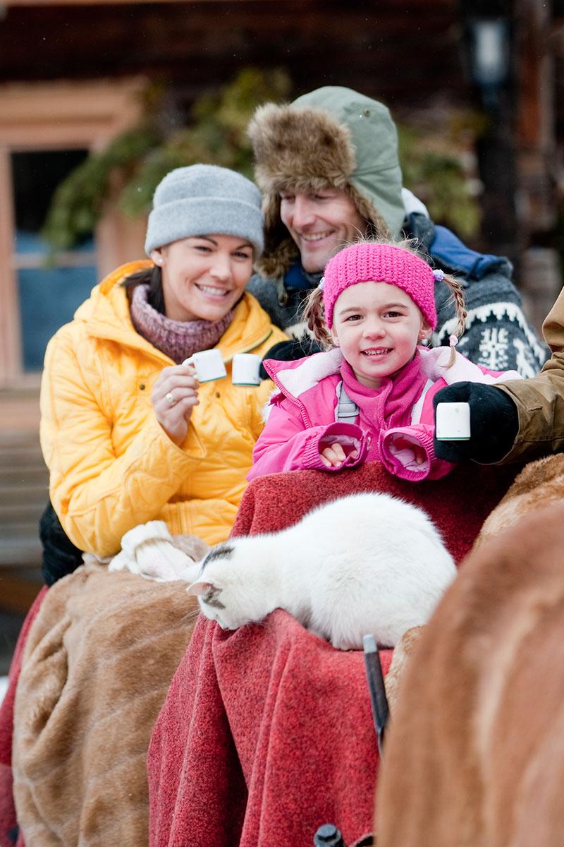 Pferdeschlittenfahrten in Altenmarkt-Zauchensee
