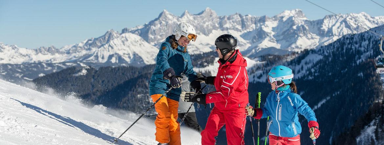 Erwachsenenskikurse in der Skischule in Zauchensee