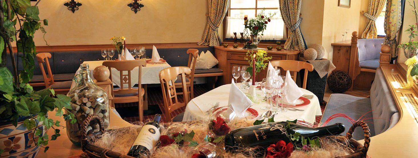 Restaurant im Hotel Zauchensee Zentral